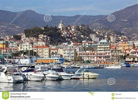 Italian House Plans san remo italy stock image image of scenic destination