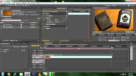 adobe premiere pro keyframes tutorial adobe premier cs5 tutorials how to apply opacity and