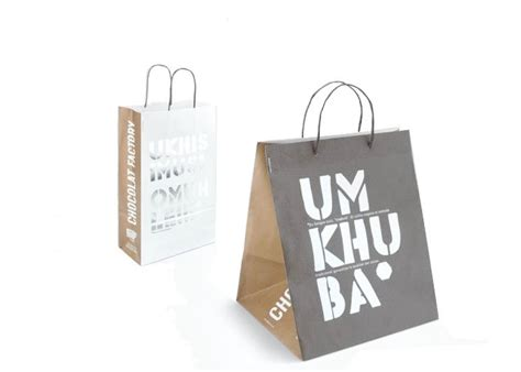 uv coating paper shopping bag  clothes packaging