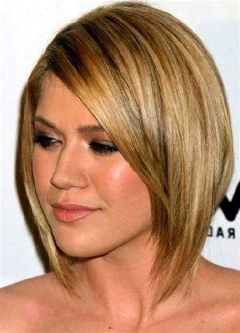 haircuts for thin hair chubby face 10 cute bobs for round faces bob hairstyles 2018 short