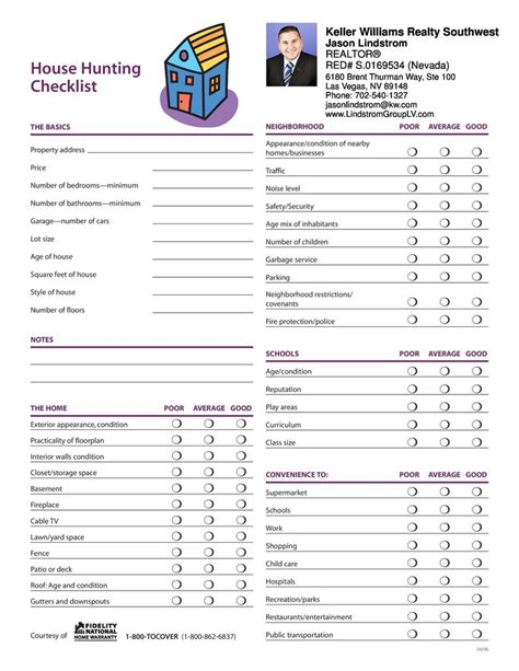 Printable Moving Checklist Real Simple