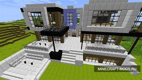 rich people houses modern house for rich people only карты для майнкрафтаа