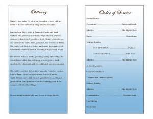 Memorial Service Program Template Life Single Fold Memorial Program Funeral Pamphlets