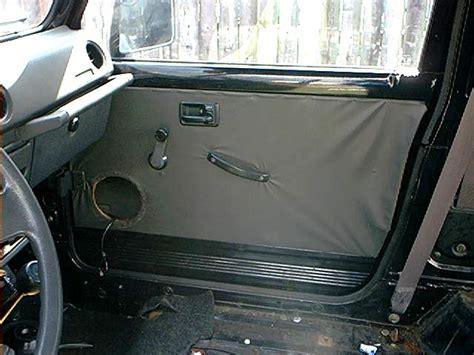 Suzuki Samurai Door Panels Samurai Diy Recovering Door Panels Izook Suzuki 4x4
