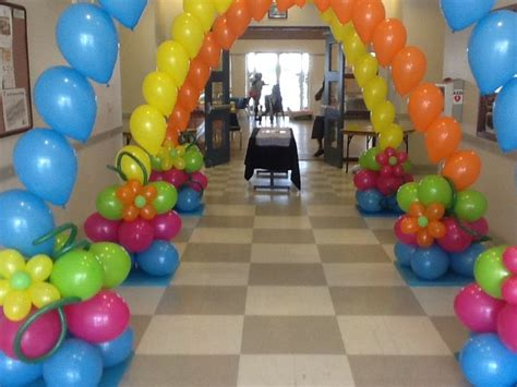 Hawaiian Balloon Decorations by 17 Best Images About Hawaiian Decorations On