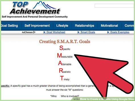 web design using google sites 4 ways to create a website using google sites wikihow