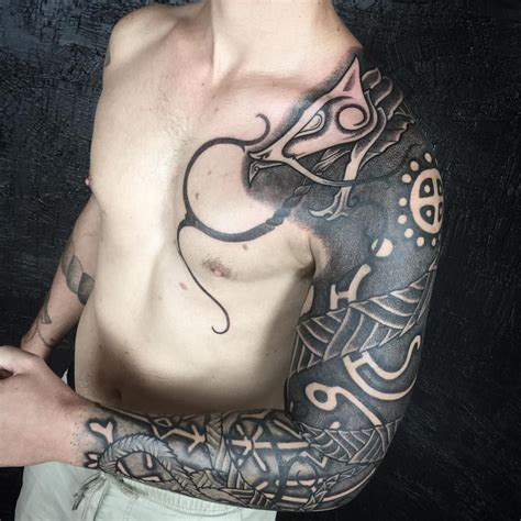 viking tattoo instagram 237 likes 3 comments peter madsen blackhandnomad on