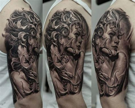 tattoo gallery for females shoulder women tattoo by kwadron tattoo gallery