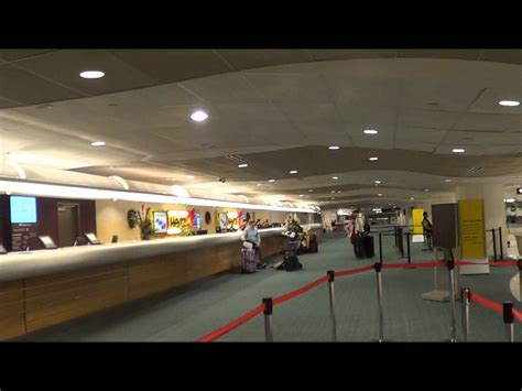 orlando airport car hire desks youtube