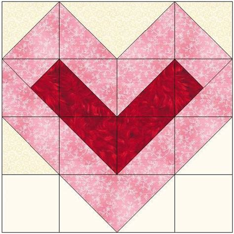 Seven Quilt Block Pattern by Center Filled Quilt Block Pattern By Feverishquilter