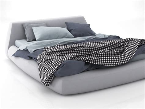 big bed big bed 02 3d model poliform
