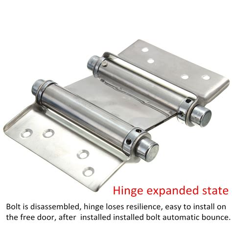 double swing hinge 2pcs 3 inch double action spring hinge saloon cafe door