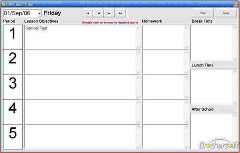 8  teacher planner template   bookletemplate.org