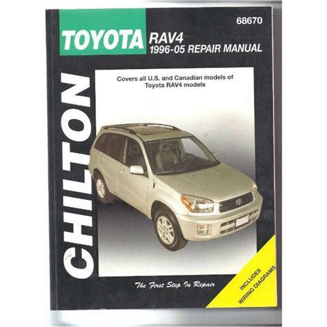 buy car manuals 1996 toyota rav4 spare parts catalogs chilton repair manual toyota rav4 1996 05 very good conditon on ebid united states 164382818