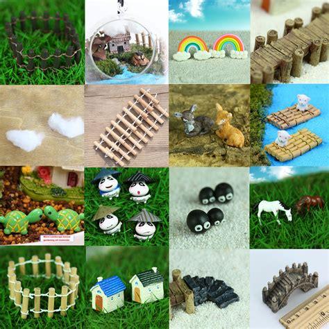 Garden Accessories by Miniature Garden Ornament Decor Pot Diy Craft