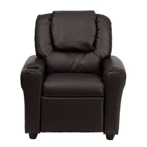 Best Recliners Review by Flash Furniture Brown Vinyl Recliner