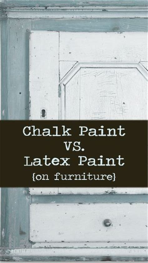Chalk Paint Vs Paint On Furniture Furniture