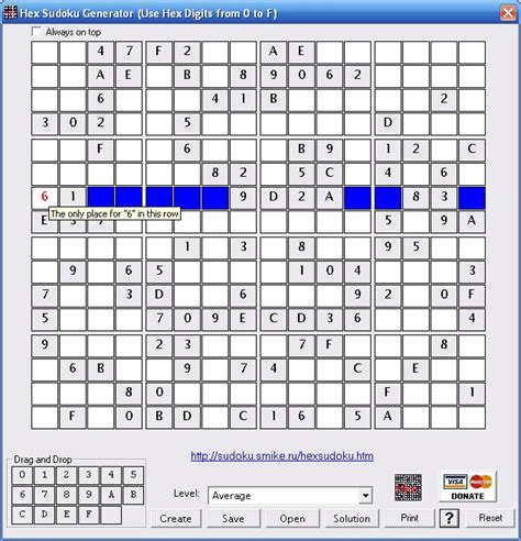 printable sudoku generator hex sudoku generator information and download of alex