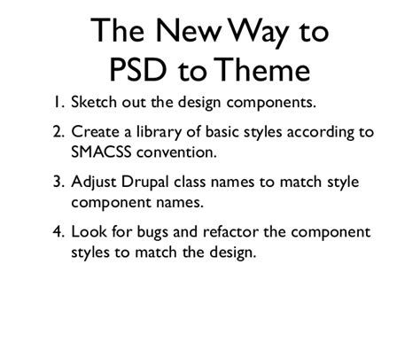 drupal theme naming conventions psd to theme the smacss way