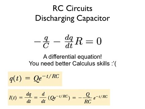 capacitor circuit equations resistor capacitor differential equation 28 images homework and exercises circuit with