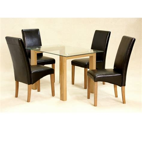 Dining Table And Chairs Set Cheap Cheap Heartlands Adina Small Glass Dining Table Set 6 Chairs For Sale