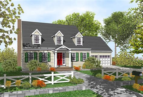 customizable cape cod classic 9554dm architectural