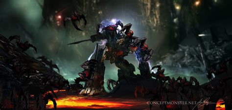 Transformers Egg Attack Optimus Prime Original optimus prime spiderbot attack by alexruizart on deviantart