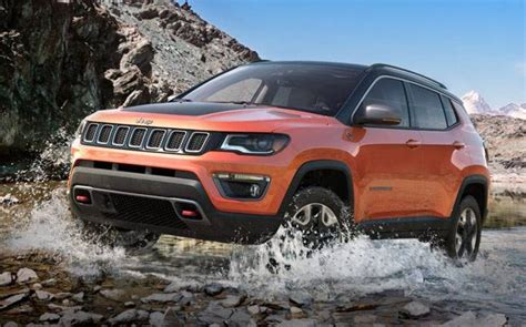 jeep india compass jeep reveals india spec compass suv in
