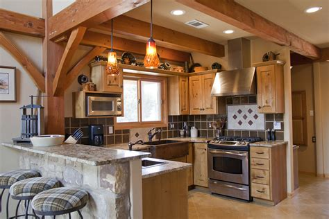 A Frame Kitchen Ideas Weekend Retreat Home Timber Frame Residential Project Photo Gallery
