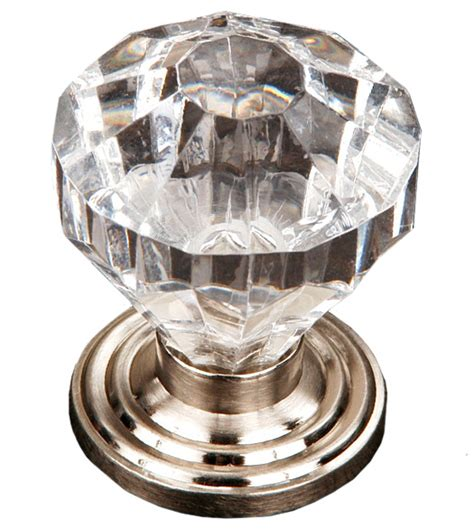 cut acrylic cabinet door knob rk international ck