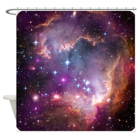 science shower curtains outer space nasa science shower curtain by
