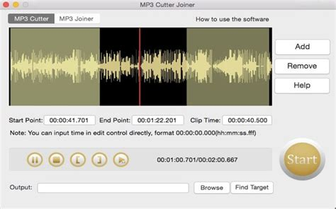 download mp3 cutter mac free mp3 cutter joiner for mac download