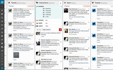 tweet deck tweetdeck for mac updated with direct message photos and more