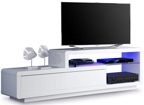 Incroyable Meuble Tv Conforama Blanc #4: meuble-tv-de-rangement-lumineux-a-2-tiroirs-310.jpg