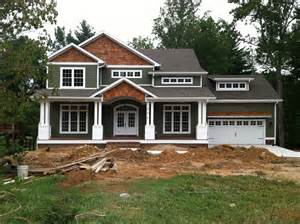 craftsman house styles craftsman style home turn the garage to the side change the color and add some rock work