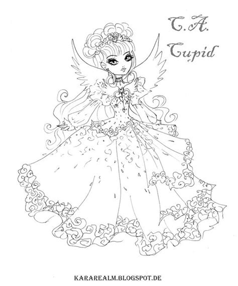ever after high christmas coloring pages ever after high malvorlagen and f 228 rben on pinterest