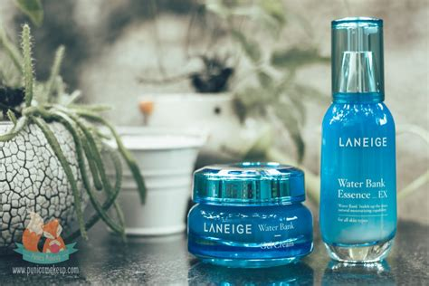 Laneige Water Bank Essence review laneige water bank essence ex punica makeup