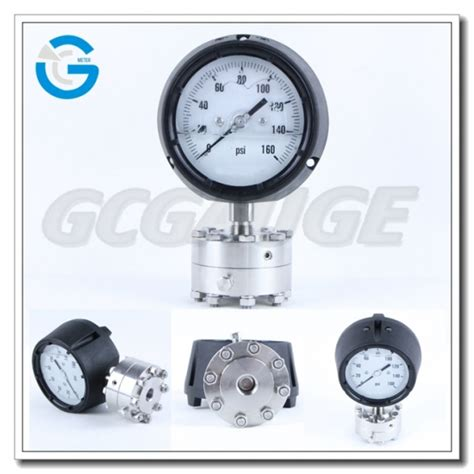 Pressure 4 Inch 4 inch polycarbonate pressure gauges with diaphragm