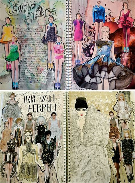 fashion design inspiration ideas textiles and fashion design sketchbooks 20 inspirational