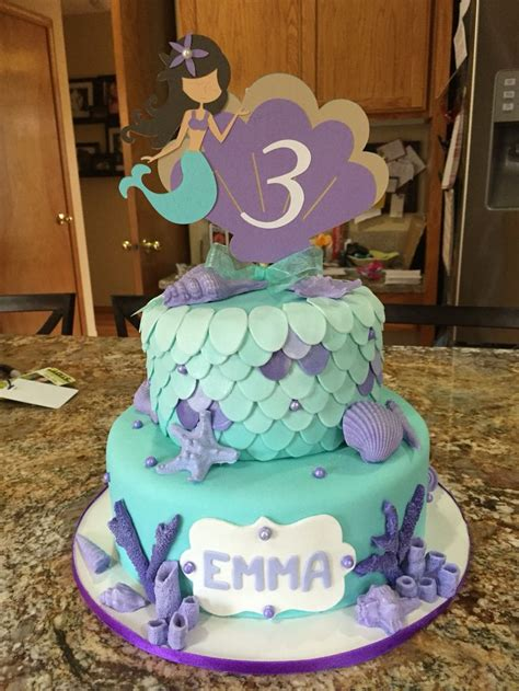 To Be Cake Ideas by Mermaid Cake My Cakes Cakes Mermaids And