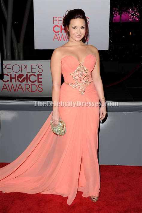 Choice Awards Strapless Trend by Demi Lovato Strapless Prom Dress 2012 S Choice