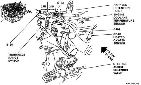 northstar cooling system diagram oldsmobile 88 crankshaft position sensor location