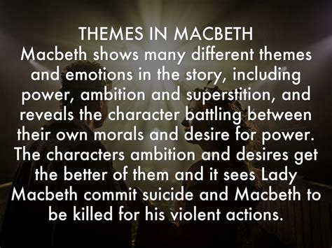 various themes of macbeth act 3 macbeth ambition quotes quotesgram