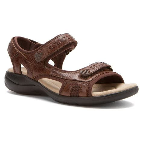 brown sandals clarks women s morse tour sandals in brown leather ijshoes