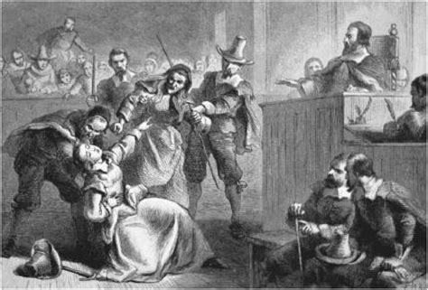 Spectral Gallows the witchcraft trials in salem vce literature the