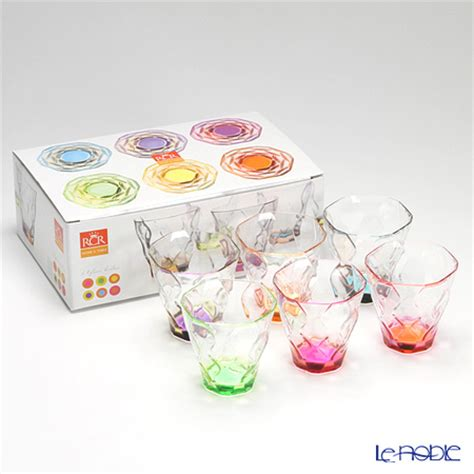 Rcr Home And Table by Le Noble Rcr Home Table Riflessi Bicolour Set 6