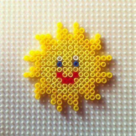 sun bead sun hama by hadavedre sol m 229 ne stj 228 rnor