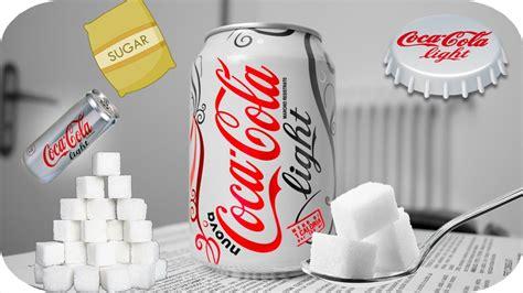light content cola light sugar sugar content cola light coke light