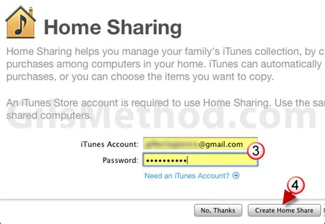 turn on home in itunes how to move itunes library to new