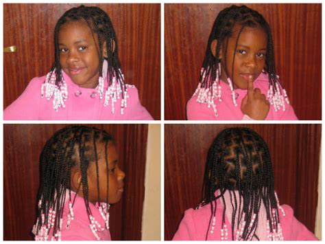 hairstyles for 7 year olds life style by modernstork com 7 year old with beads and braids shared by katia black